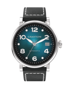 Automatic Watch Blue Color Gradient