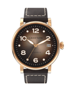 Automatic Watch Brown Color Gradient