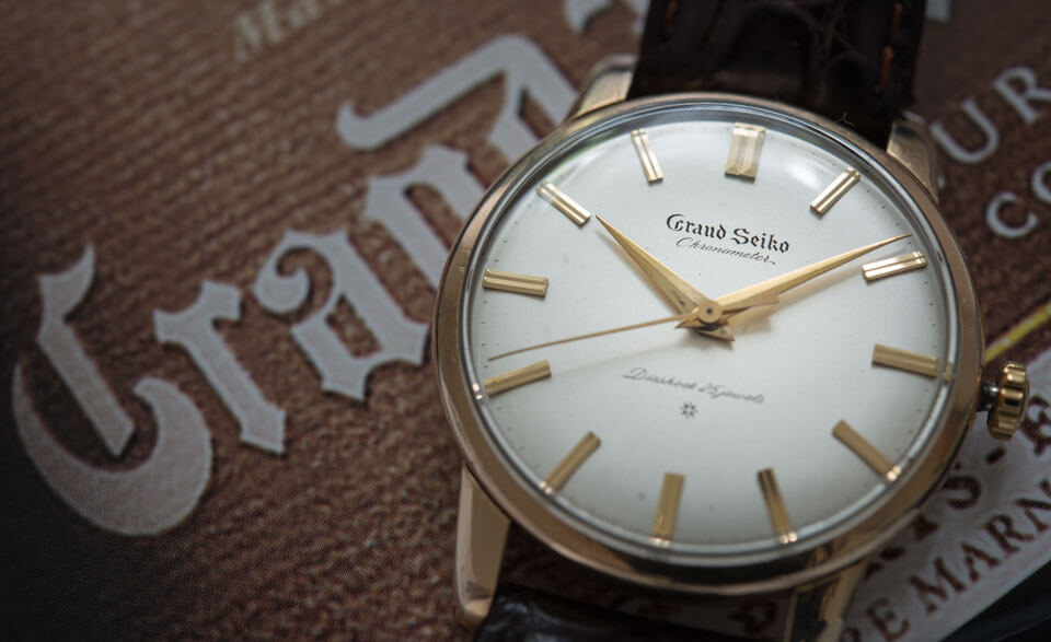 Grand Seiko Chronometer Watch