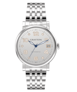 Women's Automatic Watch White Silver Dial